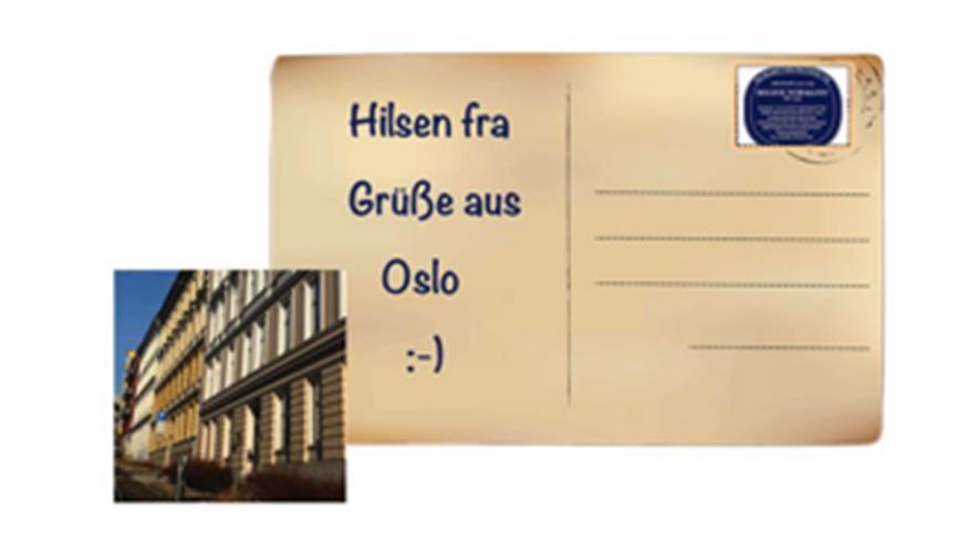Bidra.no - Takkekort fra Oslo - Postkarte aus Oslo