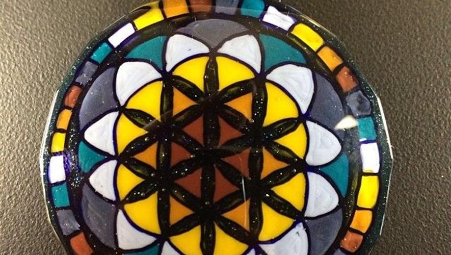 Bidra.no - Glass amulett