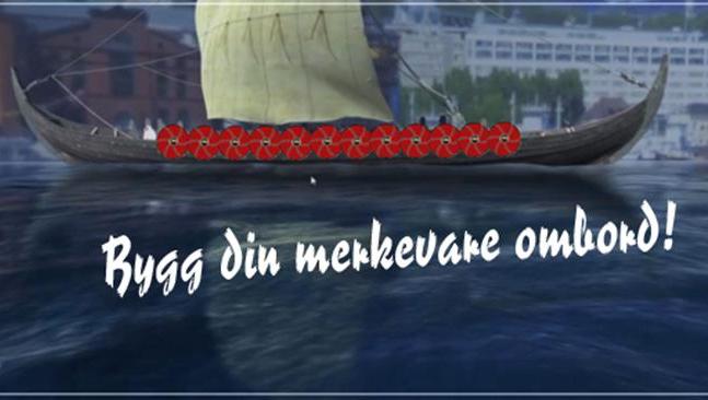 startskudd.no - Profiler bedriften på et skjold ombord på skipet