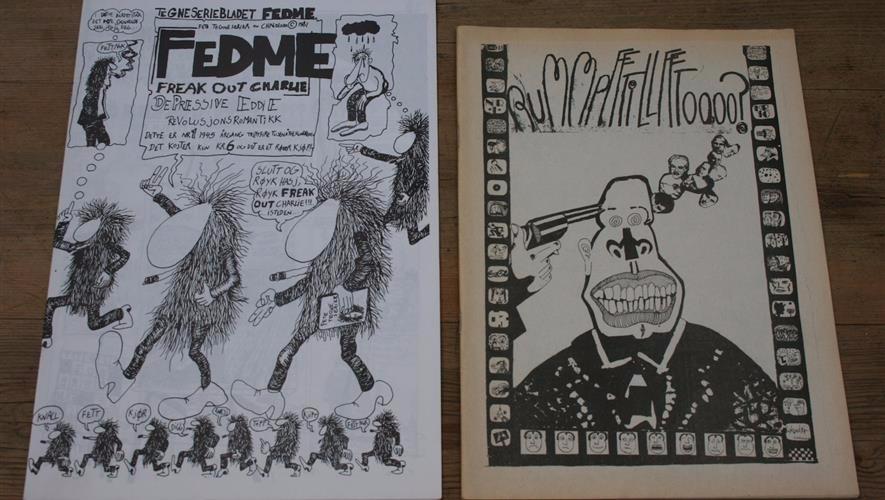 Bidra.no - Christopher Nielsens første tegneserier