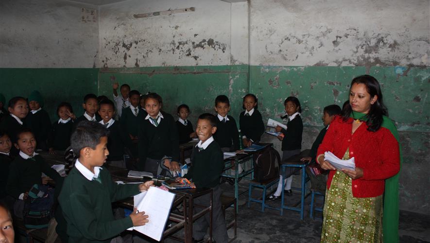 startskudd.no - Bygging av ny skole i Kathmandu etter jordskjelvet i 2015
