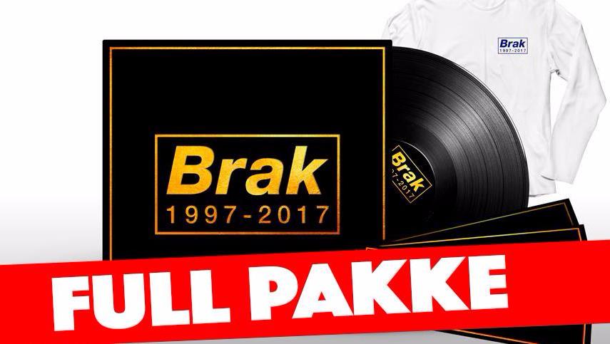 Bidra.no - Full pakke: Vinyl + Billett + Longsleeve 400,- ink 30kr porto (fullpris 600,- pluss porto)